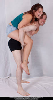 Piggyback Couple 02