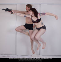 Jump And Gun 01 by Null-Entity