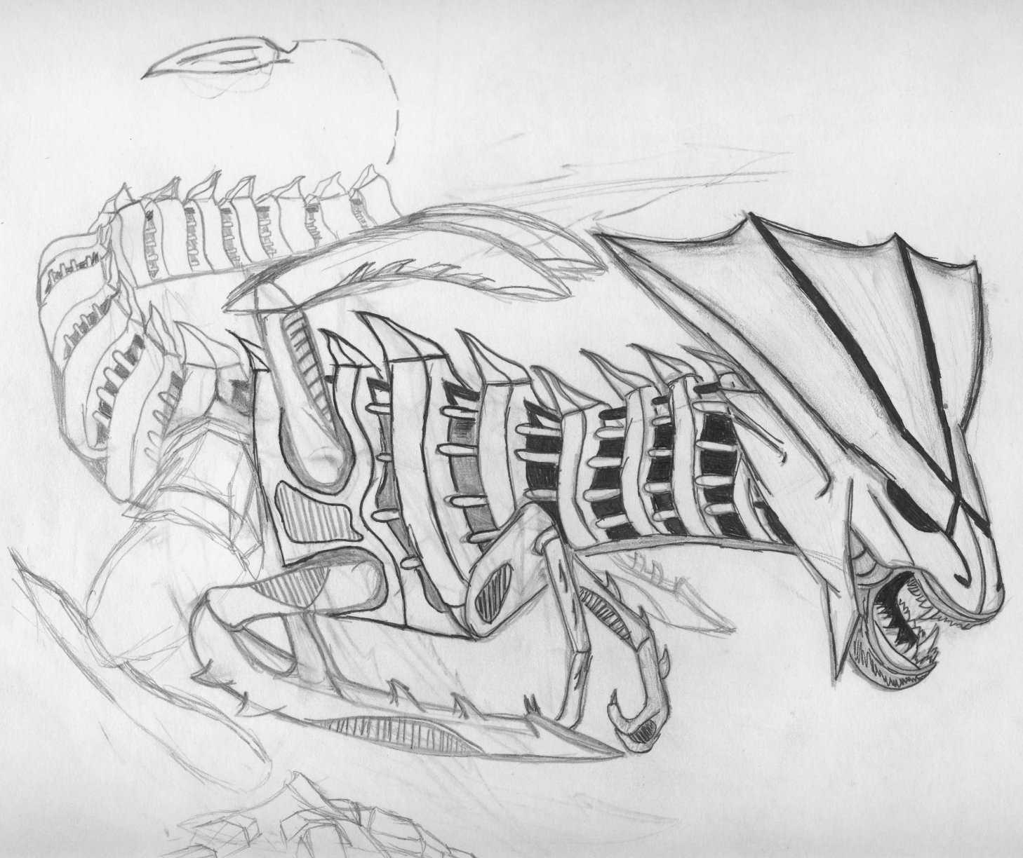Alien Queen by Null-Entity