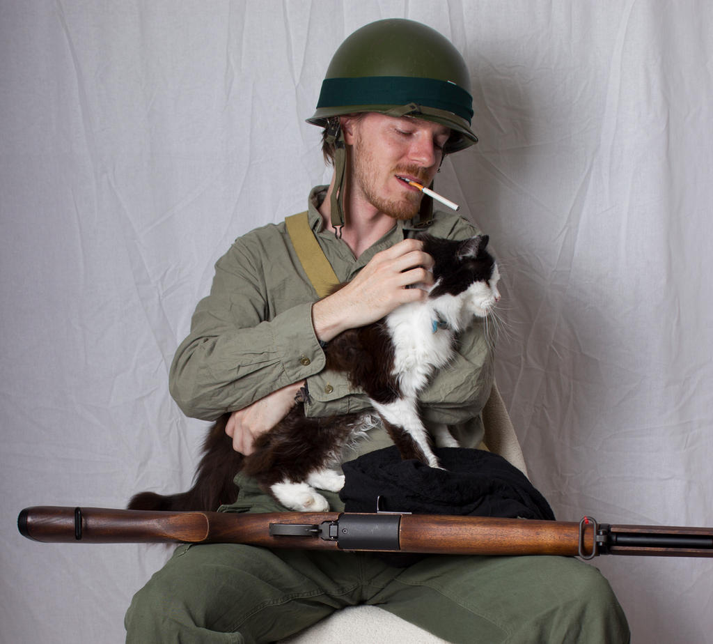 Unknown Soldier (Cat) 01 by Null-Entity