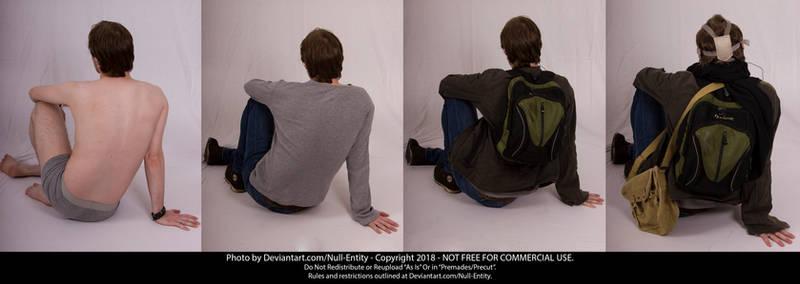 Clothing Layers Pose 10 B