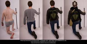 Clothing Layers Pose 09 B