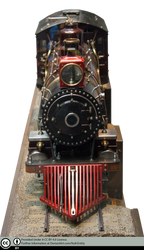 Model Steam Train Precut by Null-Entity
