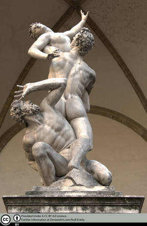 Rape of the Sabine Women by Null-Entity