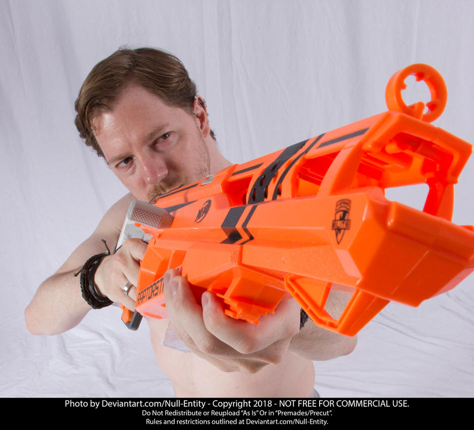 Space Rifle (Foreshortening) 03 by Null-Entity