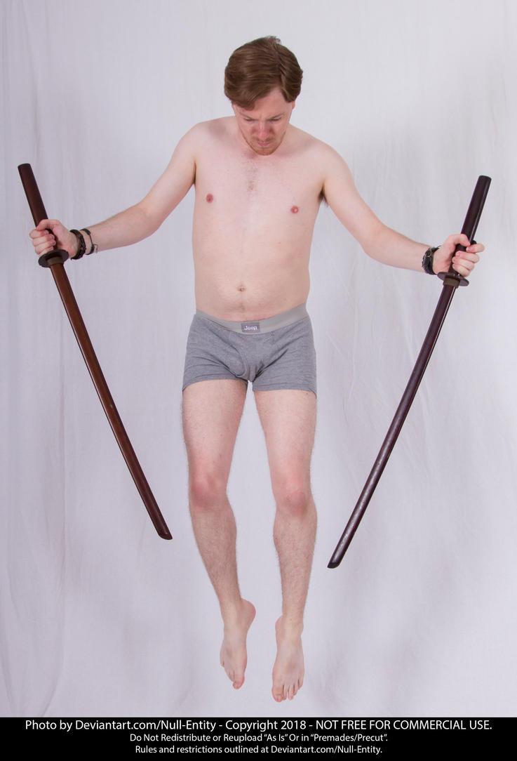 Deviantart Dual Sword Pose Wwwtopsimagescom