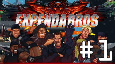 ExpendaBros - Part #1 - GET TO DA CHOPPA!!!