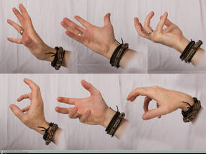 Hand Refernce - Spell Casting 01