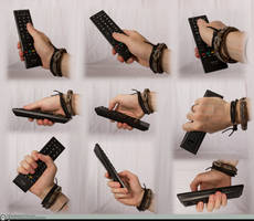 Hand Reference - TV Remote 01