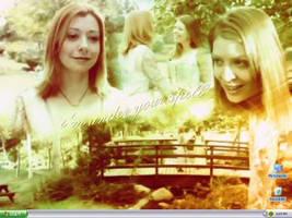Tara and Willow by blakmagjick