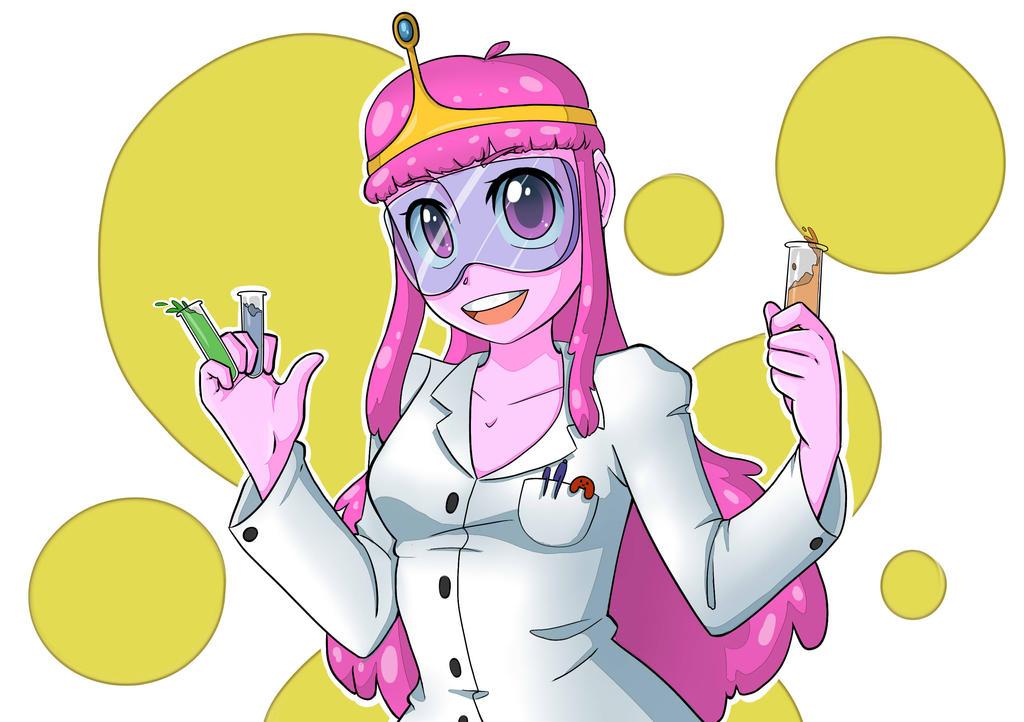 Princess Bubblegum Science by Jannzky