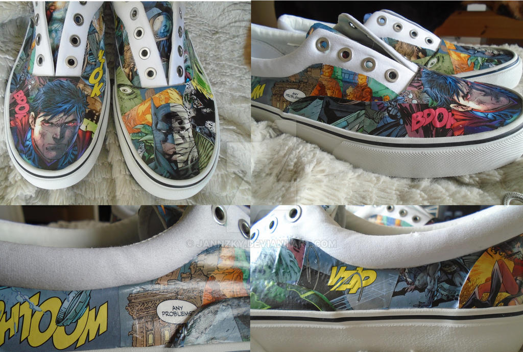 Comic Shoes wip by Jannzky