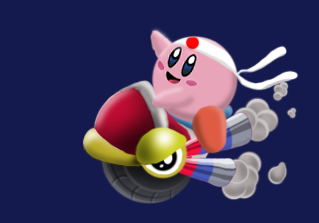 How To Draw Wheelie From Kirby