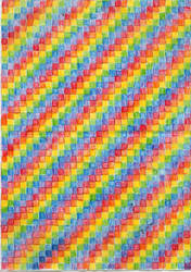 rainbow graph paper by kwinny