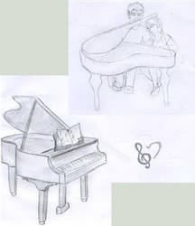 Piano by kwinny
