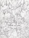Super Azumanga Daioh poster concept