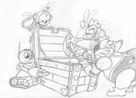 Robotnik's Massive Chest by Geibuchan