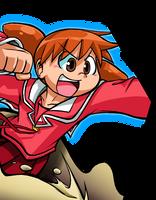 Chiyo-Chan Battle Cutin by Geibuchan