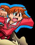 Chiyo-Chan Battle Cutin