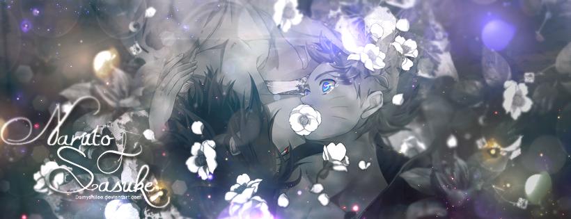 Naruto x Sasuke by DamyshiLee
