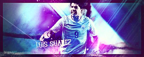 Luis Suarez by BlazeAart