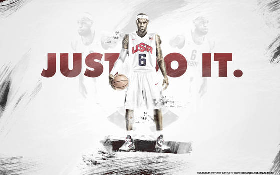 Lebron James- JUST DO IT. by BlazeAart