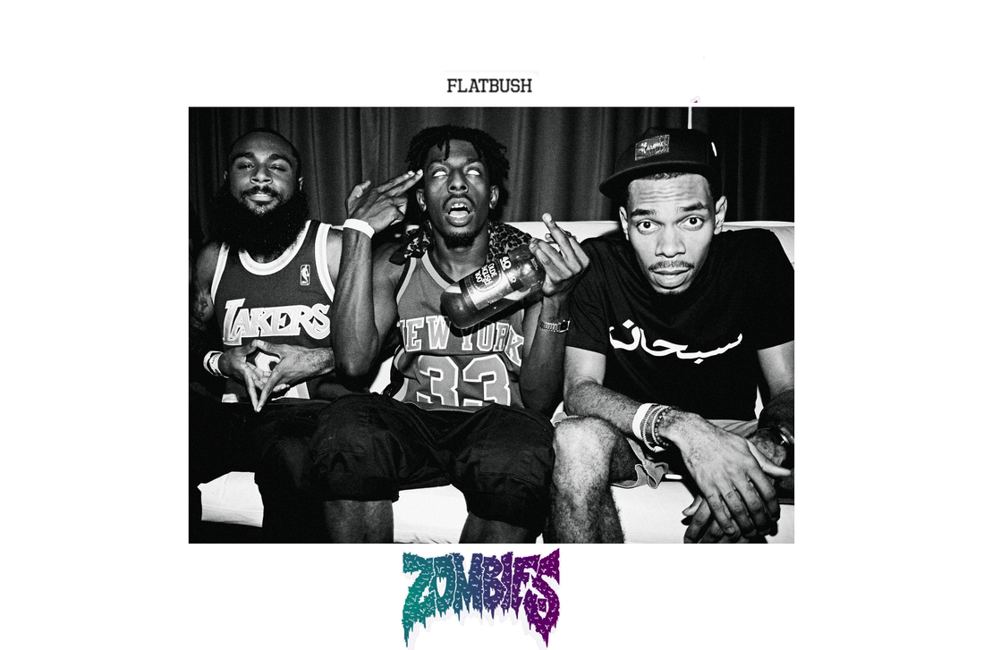 flatbush zombies by blazeaart on deviantart