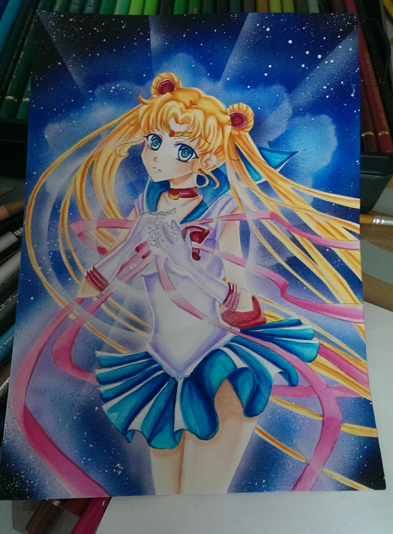 Sailor Moon Wip  by Ahnung