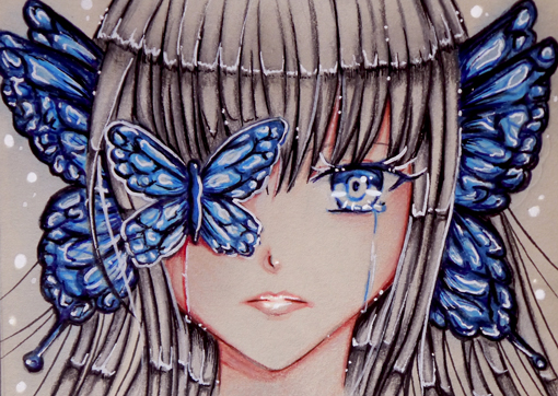 Butterfly Girl by Ahnung