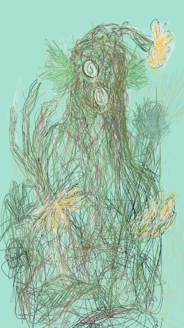 Swamp Creature by niC0ras