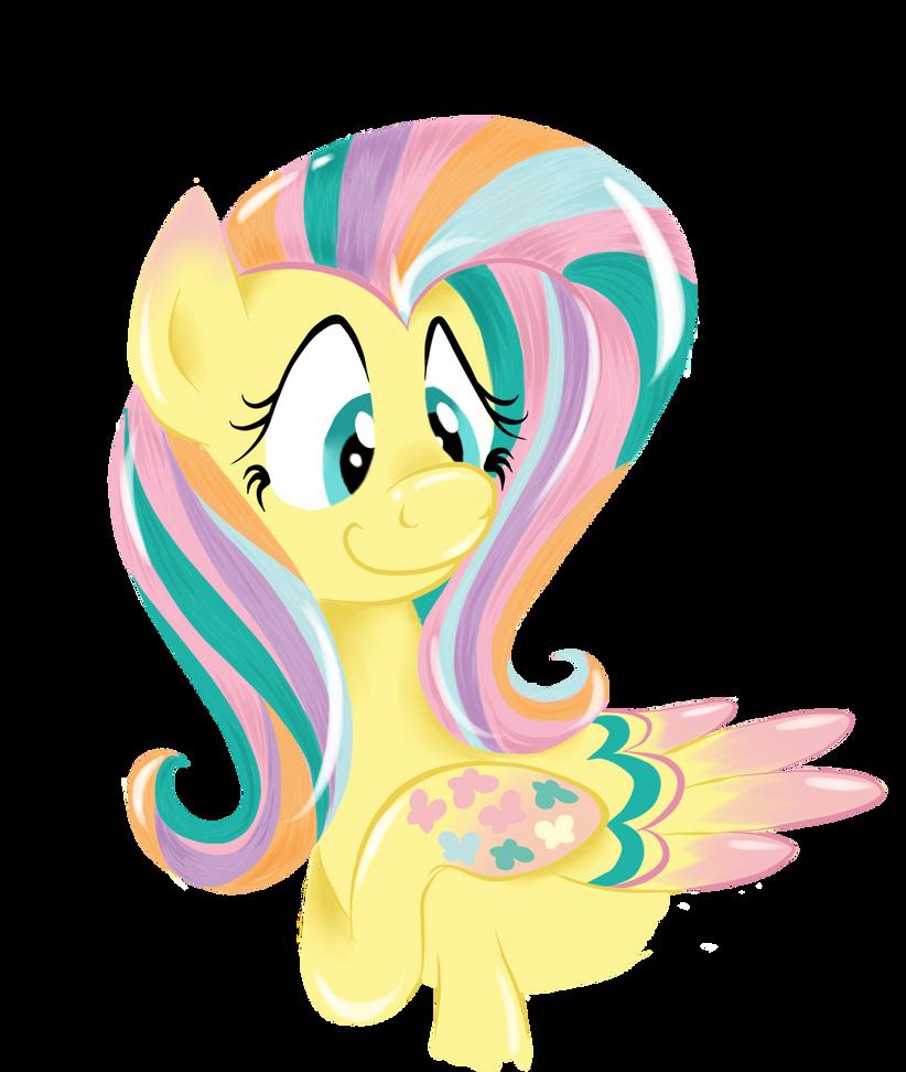 Rainbow Power - Fluttershy by RockfordRedsocks on DeviantArt