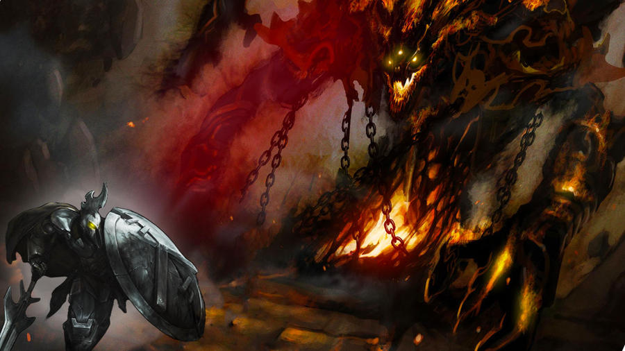 Dark Metal Pantheon Fight By AegisX999