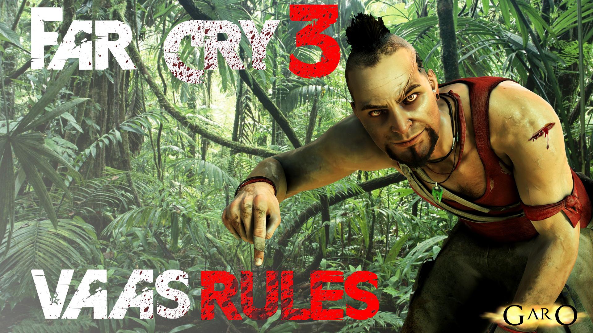 Far Cry 3 Wallpaper Vaas Rules By Garoarts On Deviantart