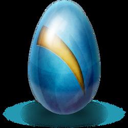 Alien Egg by AgentCosmic