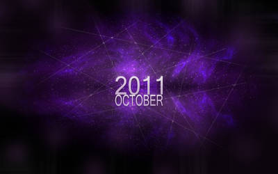 October 2011 Space Wallpaper by AgentCosmic