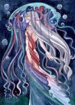 Aqua: Rainbow medusa