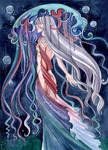Aqua: Rainbow medusa by MaryIL