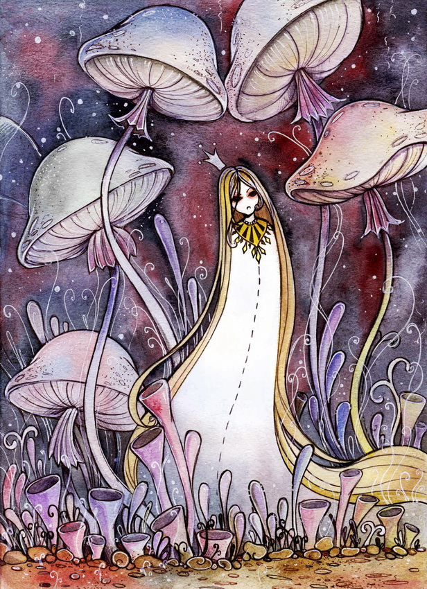 Mushrooms by MaryIL