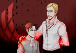 SNK Blood on his hands