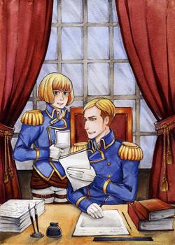 SNK Armin and Erwin
