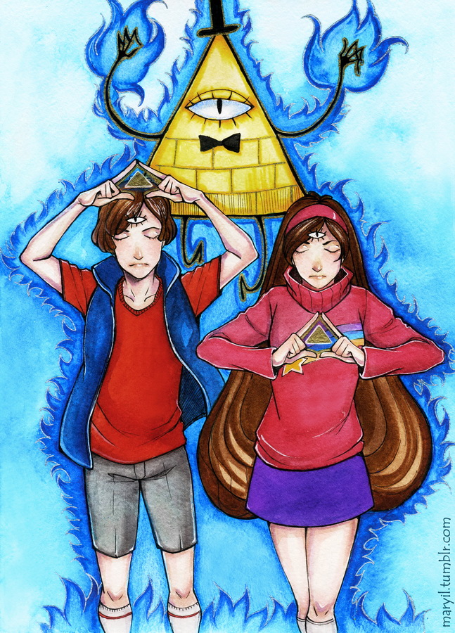 Gravity Falls - Mind and Emotions by MaryIL