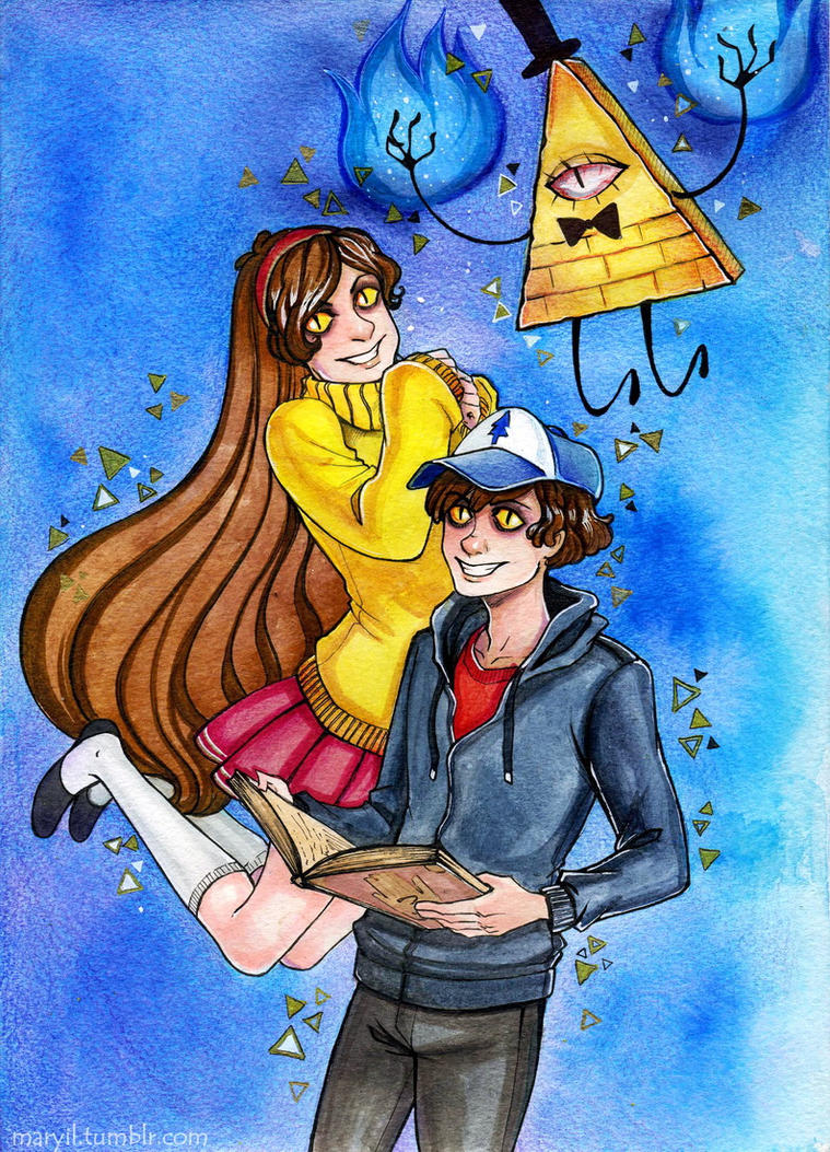 Gravity Falls - Children by MaryIL