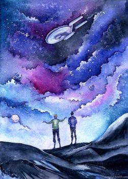 TOS Star Trek - Space, the final frontier