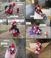 Ponyfied TFP Knockout - MLP Plushie Contest by SnowFox102