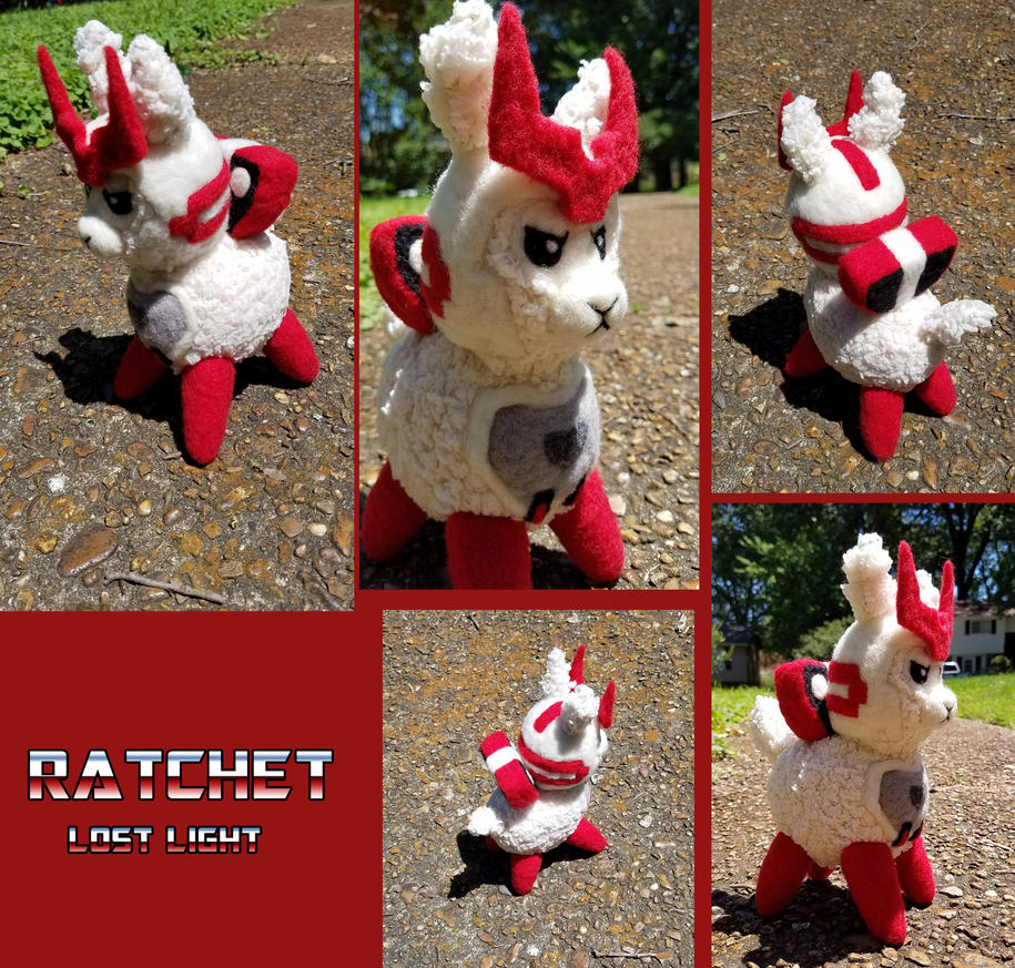 Alpacaformers - IDW Lost Light Ratchet by SnowFox102