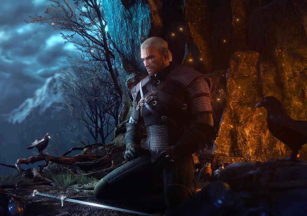 01 The Witcher 3 Geralt by judge1076