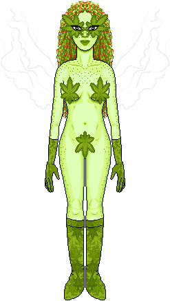 Mary Jane the Plant Fairy (KiSS doll WIP)