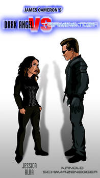 Dark Angel vs Terminator