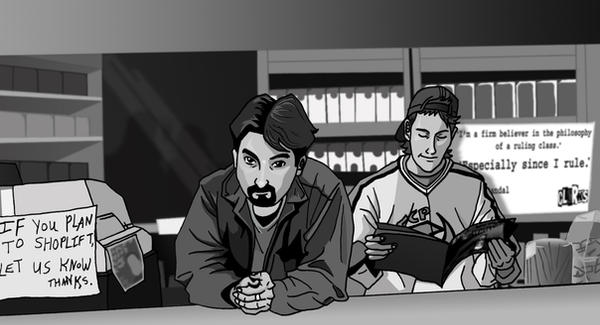 Clerks. by deanfenechanimations