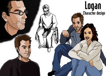 Logan character design by deanfenechanimations